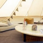 glamping holiday bell tent hire