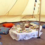 bell tent party hire