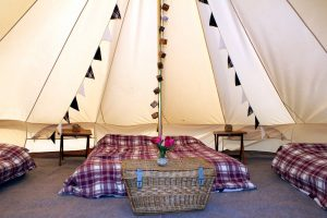 family bell tent hire