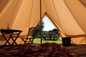 Bell Tent Hire Birkenhill Farm Aberdeenshire, Moray and Highlands