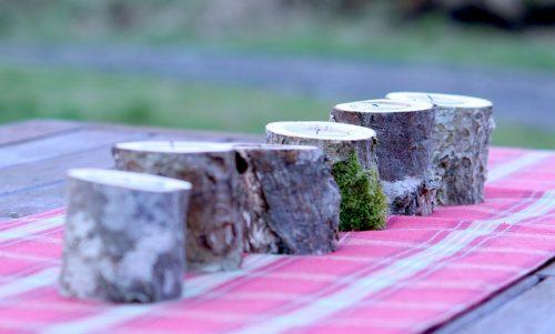 7 Candle driftwood centre piece: £30 (seven 1 jpg) Single Birch Wood candle holder £6 (single 1 jpg) Triple candle driftwood centre piece