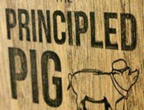 Guest Blog by the delicious Principled Pig